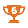 6 место